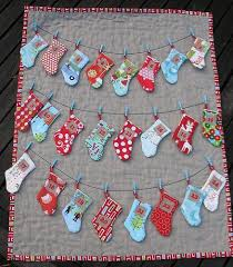 Quilted Advent Calendars to Count Down to Christmas & Stocking Advent Calendar Adamdwight.com