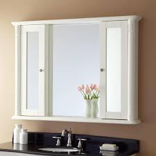 fascinating best bathroom mirrors. Fascinating White Bathroom Medicine Cabinets With Rectangular Side Mirror And Flower Vase Also Black Top Bath Vanities Oval Sink Best Mirrors N