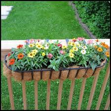 railing flower pots deck rail planter boxes planters for railings hooks lattice deck flower boxes s42