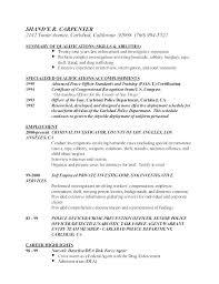 Law Enforcement Investigator Sample Resume Podarki Co