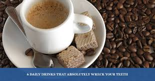 Coffee can weaken your teeth more bad news: Dentist Encino Tooth Destroying Beverages You Probably Drink