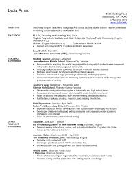 Language Teacher Resume Sample Objective Surprising Language Teacher Resume Sample For Seller Cover 11