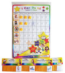 blank reward chart i can do it reward chart supplemental pack bundle behavior chore school and blanks