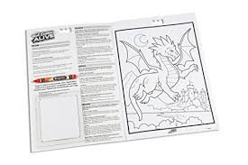 Amazoncom Crayola Color Alive Action Coloring Pages Mythical
