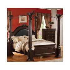 Zocalo Wood Canopy Bed (California King size) for Sale in Fremont ...