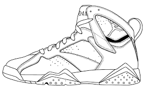 Jordan Drawing Shoes At Getdrawingscom Free For Personal Use