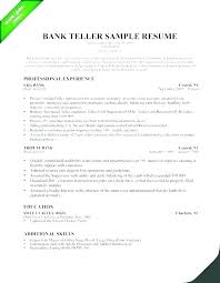 Investment Banking Intern Cv Example Format For Internship In Bank