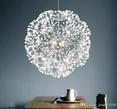 flower pendant chandelier modern led dandelion pendant lamp flower ceiling lamp chandelier new pendant lighting