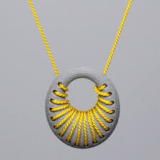 Featured at SXSW 2013: 3D Printed <b>aluminum</b> loop pendant with ...