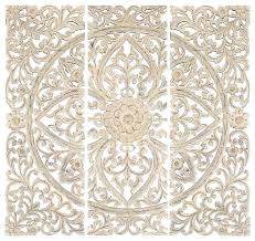 whitewashed wall decor stylish ideas white wood wall decor carved panel art designs set of 3 whitewashed wall decor