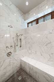 Sophisticated Marble Bathroom Schroeder Carpet - White marble bathroom