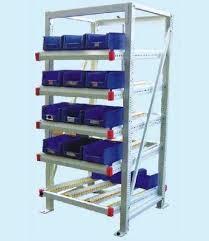 fifo storage kanban rack