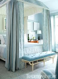 blue bedrooms enlarge duck egg blue bedroom with dark furniture