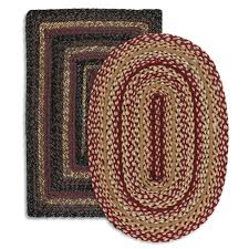 home interior astonishing rectangular braided rugs image result for knit and braid from rectangular