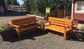 how to build outdoor benches