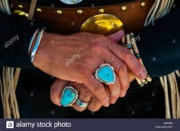 a northern cheyenne woman s turquoise jewelry indian pueblo culture center albuquerque new mexico