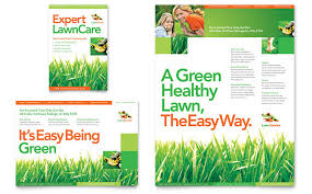 Lawn Mowing Ads Lawn Maintenance Flyer Ad Template Word Publisher