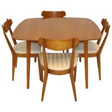 midcentury modern dining set by kipp stewart for drexel sun