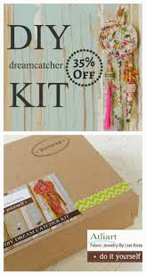 diy dreamcatcher kit white dreamcatcher diy craft diy project diy room decor nursery