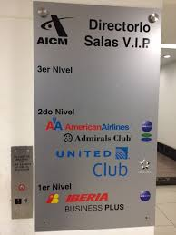 MEX Airport American Airlines Admirals Club T1 Lounge Points Summary