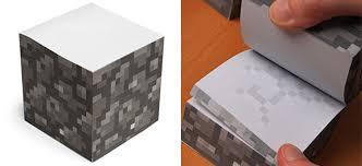 creative office supplies. Minecraft Sticky Notecube Creative Office Supplies