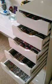 ikea alex drawers dupe