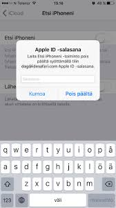apple id poistaminen macbook