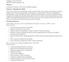 Administrative Secretary Resume Sample Best of Executive Secretary Sample Resume Hflser