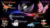 Scatterbug Pokemon Evolution Chart Scatterbug Pokemon Evolution Chart English Names