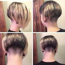 15 Shaved Bob Hairstyles Ideas   Bob Hairstyles 2017   Short together with Top 40 Awesome Women's Undercut Hairstyle for Short Hair besides The 25  best Undercut bob ideas on Pinterest   Short hair undercut furthermore 143 best Inverted Bob's images on Pinterest   Short bobs  Bob as well 45 Undercut Hairstyles with Hair Tattoos for Women   Short additionally  also 50 Amazing and Awe Inspiring Asymmetrical Bobs as well  furthermore  likewise 50 Women's Undercut Hairstyles to Make a Real Statement together with Best 25  Concave bob ideas on Pinterest   Graduated bob medium. on undercut nape chin length bob haircuts