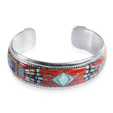 multi color spiny oyster s cuff