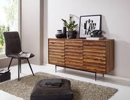 Wohnling Sideboard 150 Cm Wl5635 Aus Scheesham Massivholz