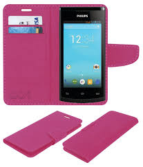 Philips S308 Flip Cover by ACM - Pink ...