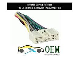 amazon com mazda protégé radio reverse wiring harness 2001 to mazda protégé radio reverse wiring harness 2001 to 2012 oem radio 71 7903