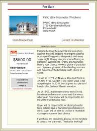 ad sample free timeshare classified ads sell rent or exchange your