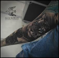 тигр рукав Tottem
