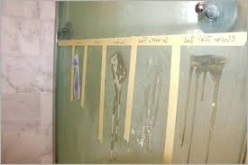 hard water stains on glass how to clean glass shower doors with vinegar a how