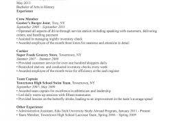 Waiter Resume Template Waiter Resume Examples Restaurant Food Server Waitress Sample In 15