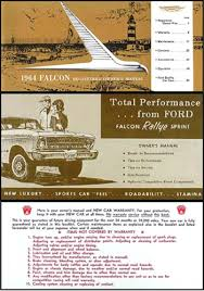 1964 ford falcon ranchero wiring diagram manual reprint 1964 ford falcon rallye sprint owner s manual reprint set