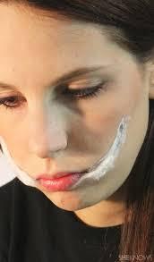 freaky femme joker makeup step 3
