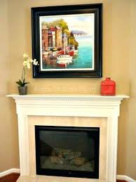 simple fireplace mantel decor traditional decorating ideas for