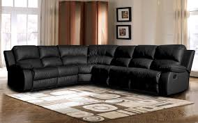 classic oversize and overstuffed corner bonded leather sectional with 2 reclining seats com
