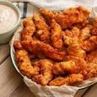 baked fiery chicken strips