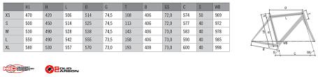 Carrera Bike Size Chart Carrera Nitro Sl Bike