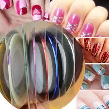 NAILS Striping Tape Burberry Nail Art CBBNov Cosmetic Proof. Nail ...
