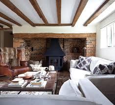 rustic living room design. Bright Rustic Living Room Design