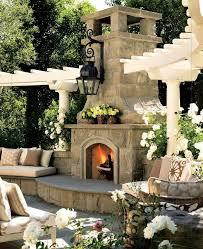 luxurious style fireplace