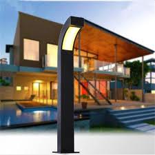 led outdoor landscape light cast aluminum european garden lawn lamp outdoor patio villa lighting modern