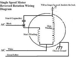 wiring diagram wiring diagram for reversing single phase motor how do you reverse a single phase motor at Reversing Single Phase Motor Wiring Diagram