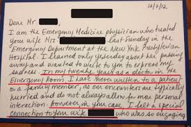 unexpected letter from er doctor make you tear up photo unexpected letter from er doctor make you tear up photo the huffington post